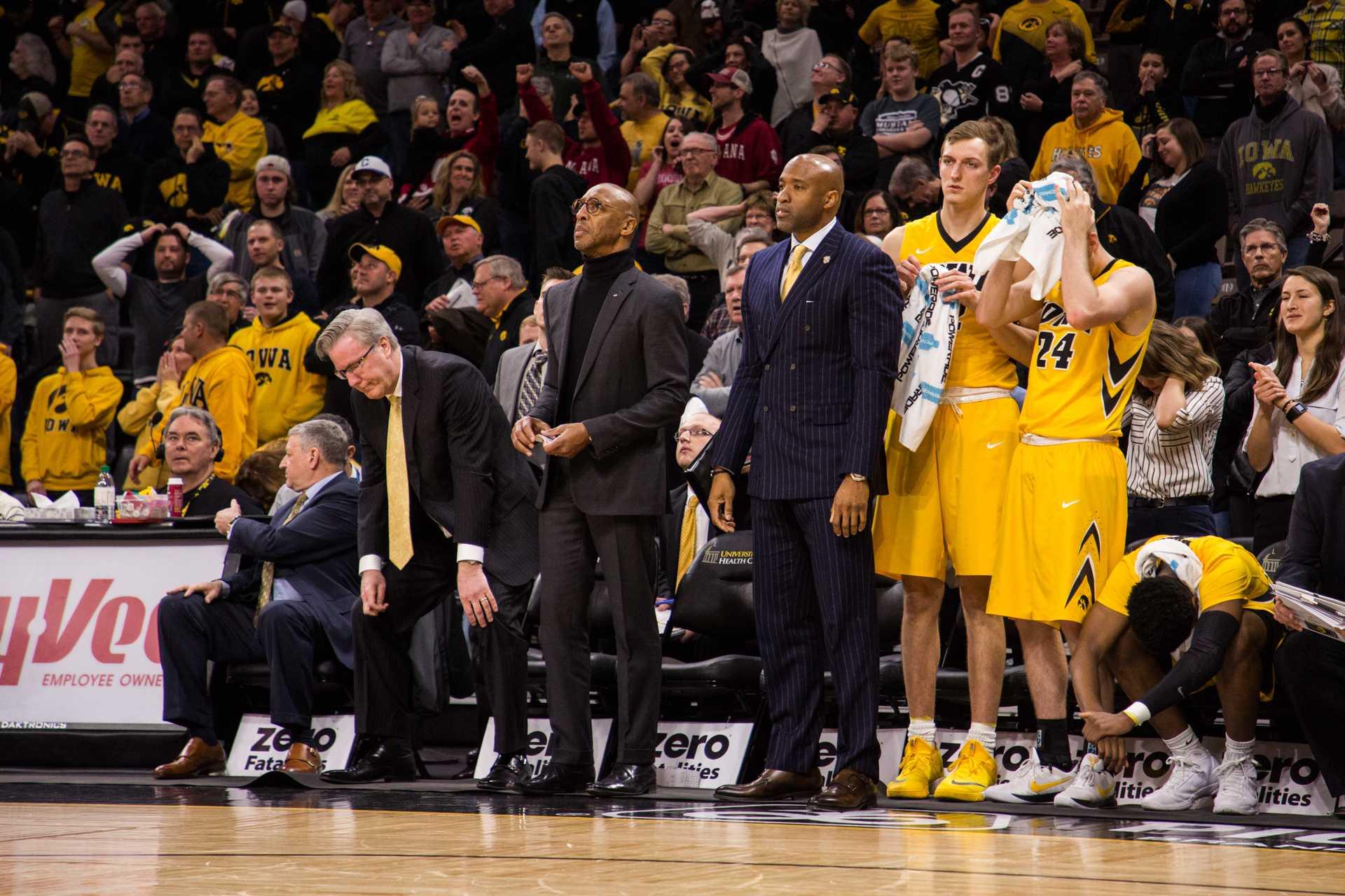 Iowa exits Big Ten Tournament in heartbreaking fashion