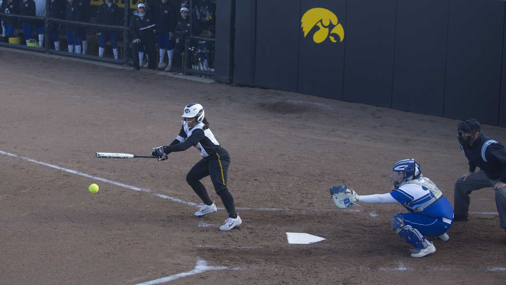 Softball heads into Big Ten play, needing to clean up its act