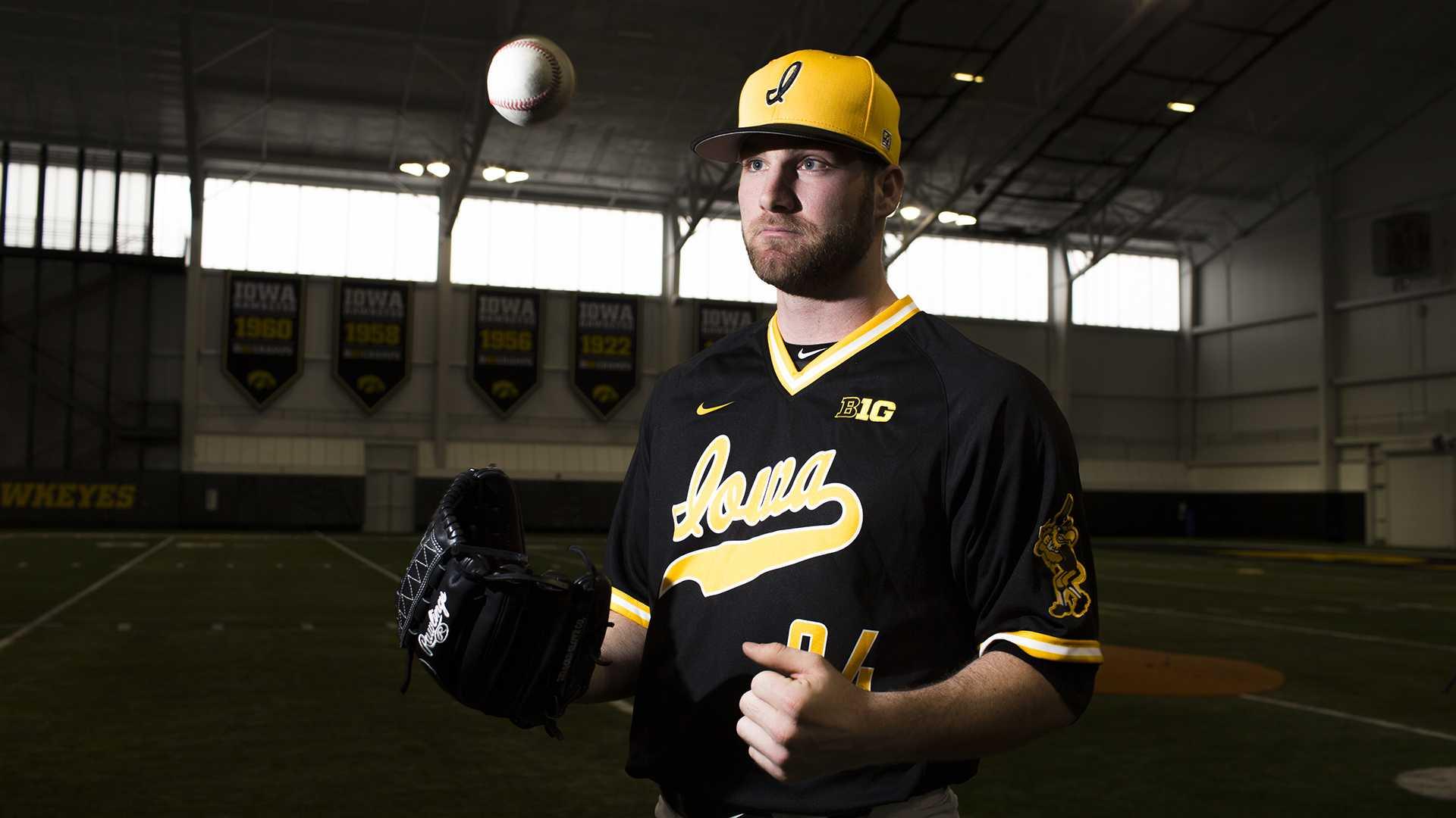 Nick Allgeyer's return to the mound elevates Hawkeye baseball