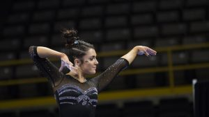 Gymnastics fall short, but five performed well