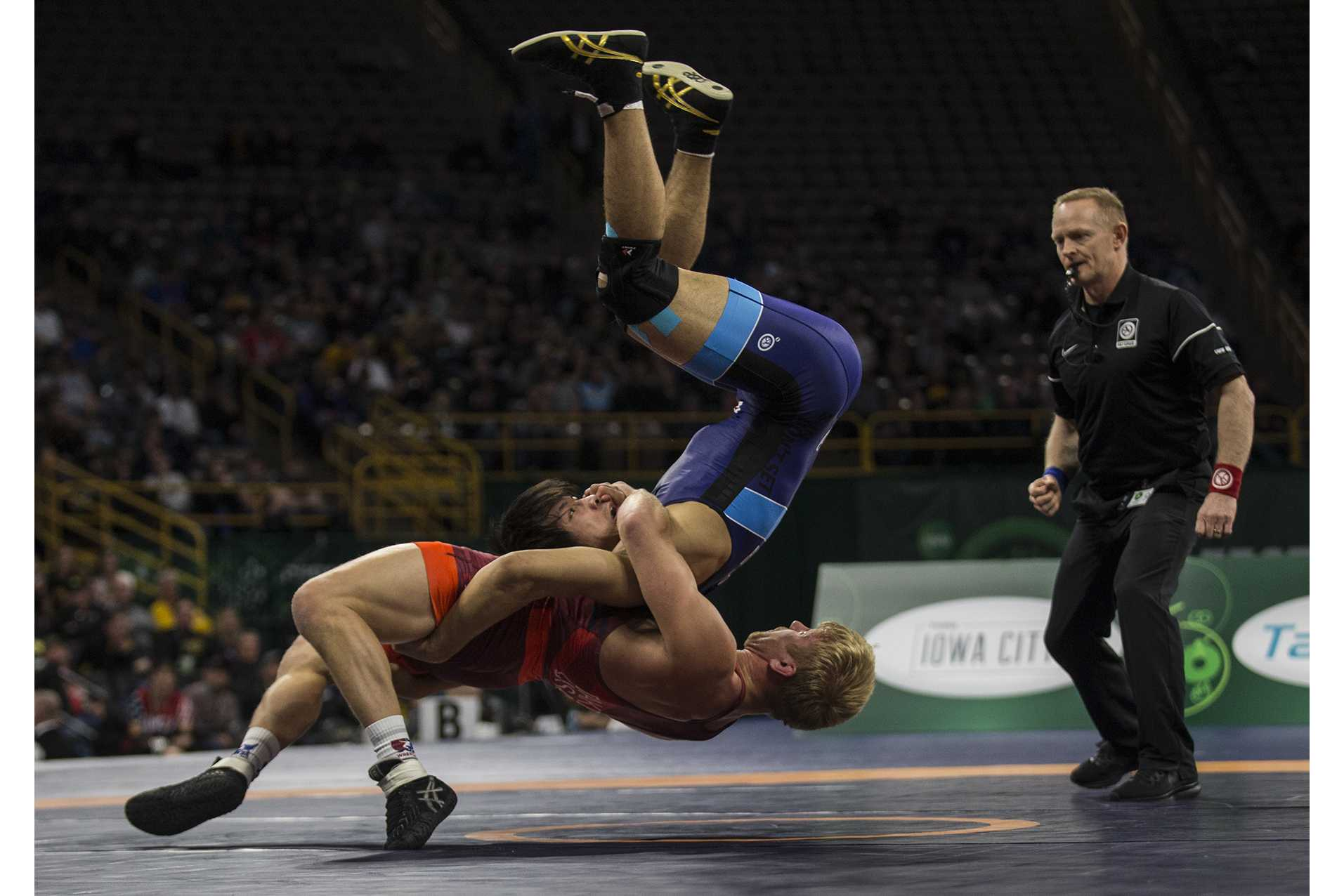 Dake leads USA to gold medal dual