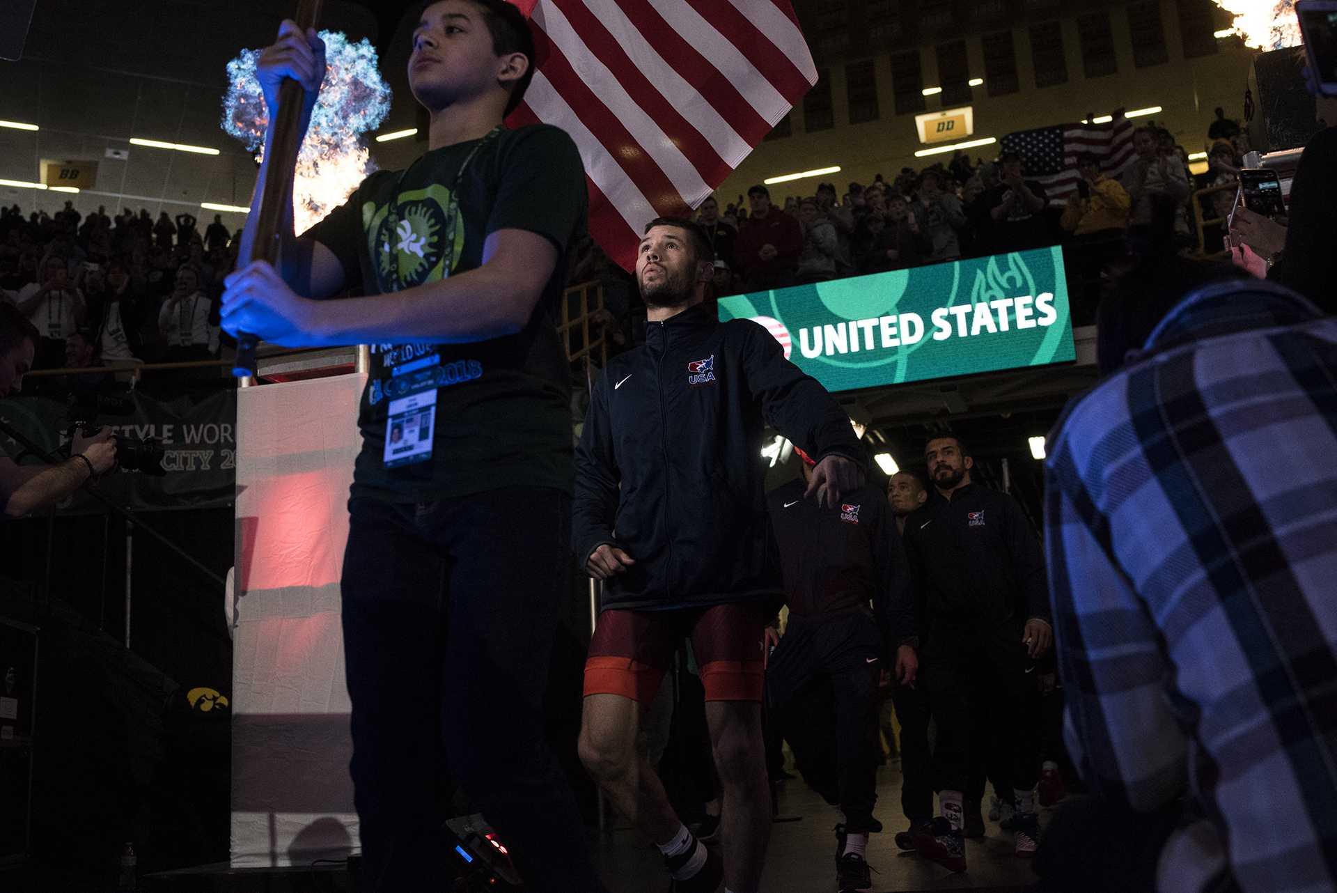 Team USA wins UWW World Cup gold