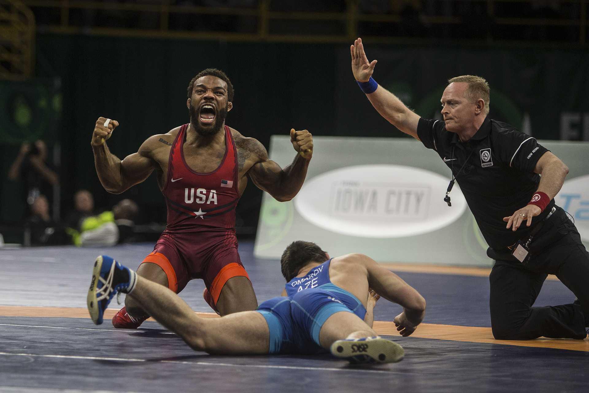 Team USA beats Azerbaijan, wins gold at UWW World Cup