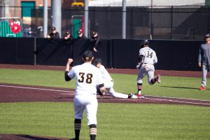 Iowa pitching staff combines for 1-hitter in win over Northern Illinois