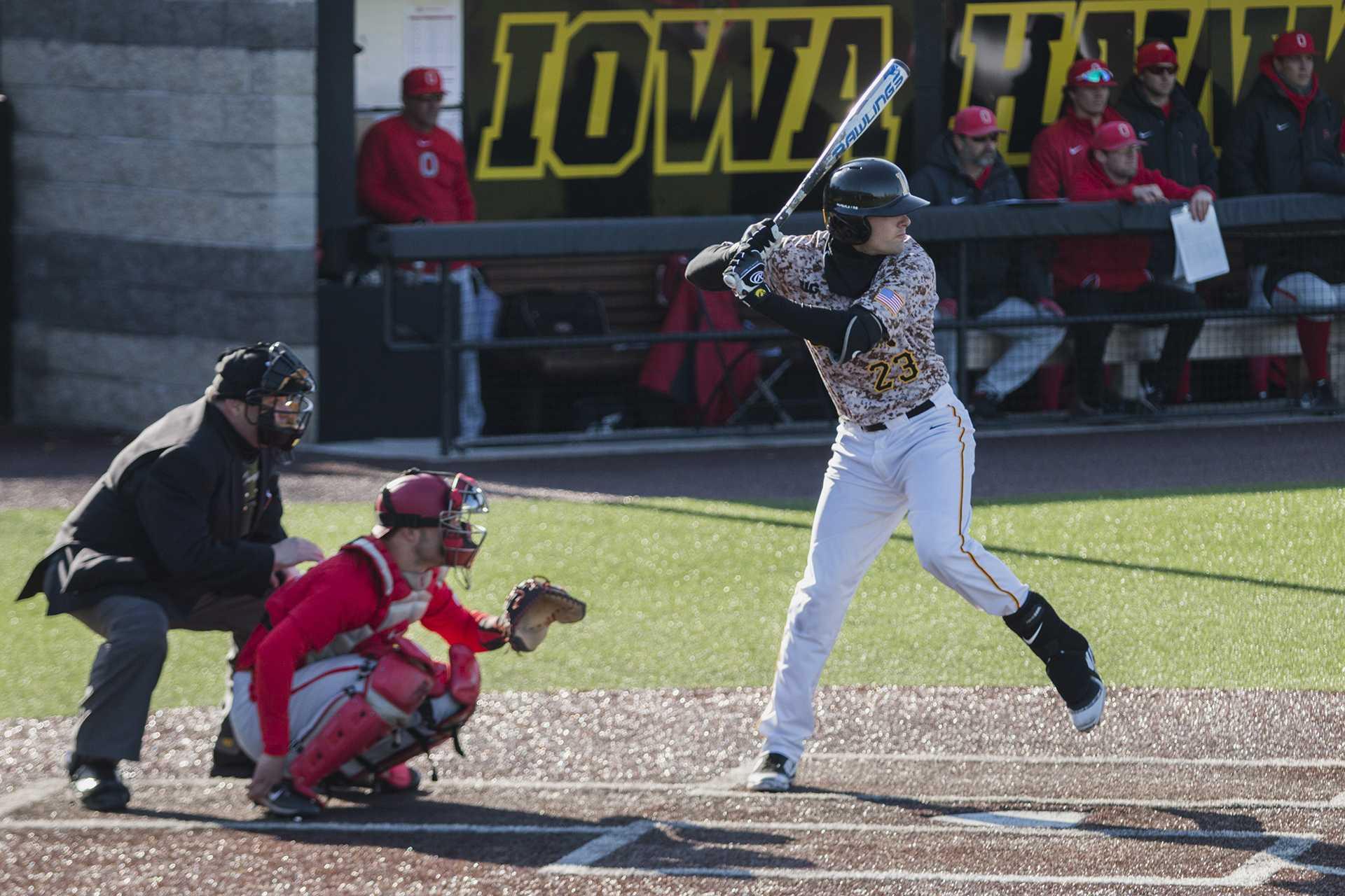 Iowa shortstop Kyle Crowl leaves Hawkeye baseball