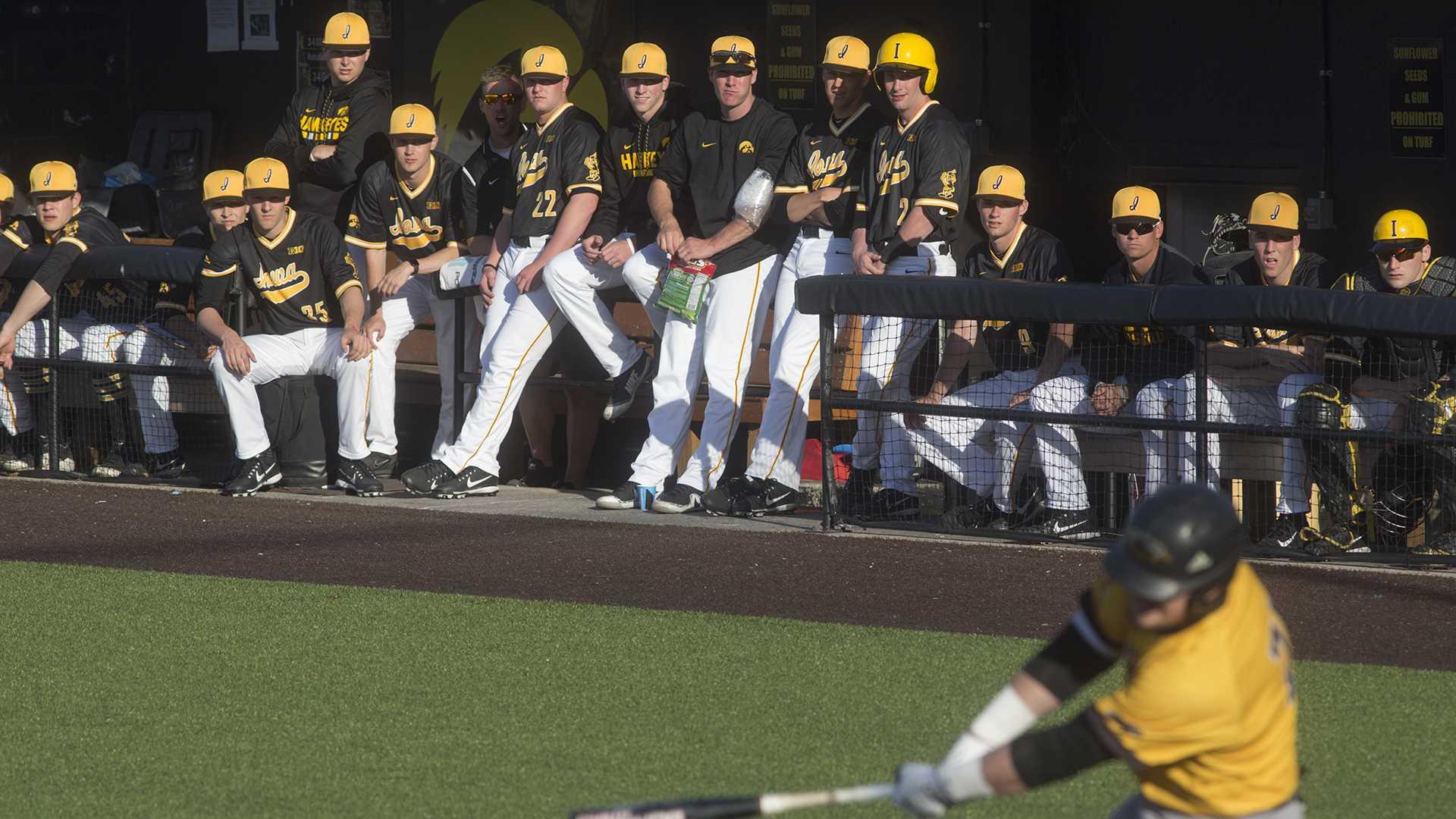 Iowa's bats show off in win over Milwaukee