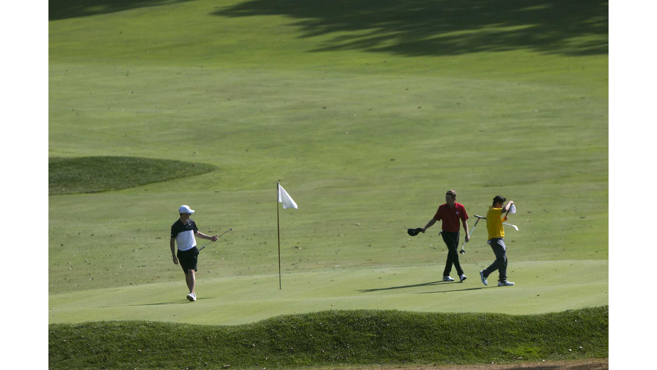 Iowa men's golf takes eighth in Texas tourney with top teams