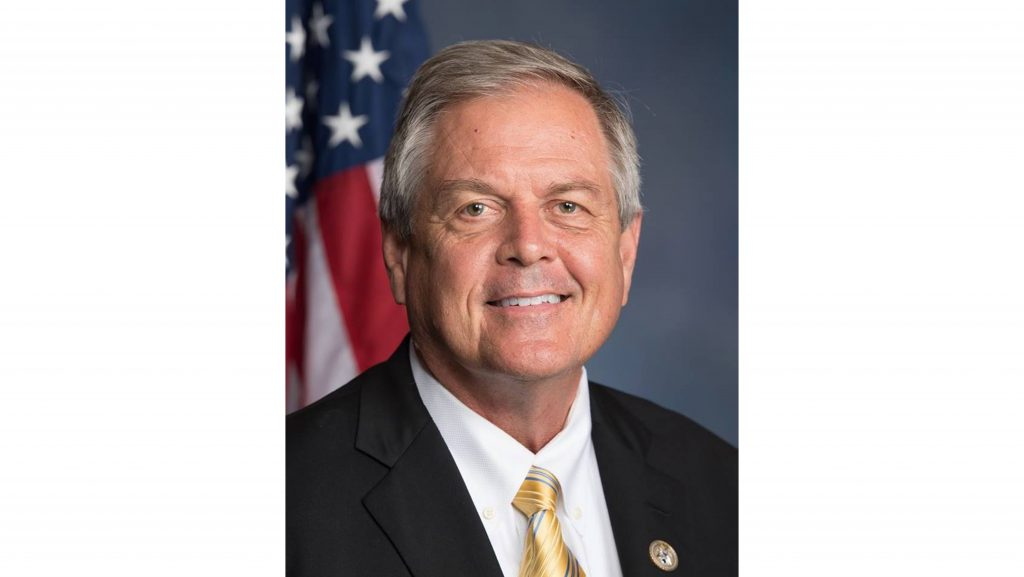"""Rep. Ralph Norman on Monday continued defending himself from criticism for removing his handgun from his blazer jacket and placing it on the table at a """"coffee with constituents"""" event in South Carolina on Friday. (U.S. House Office of Photography/Wikimedia Commons)"""