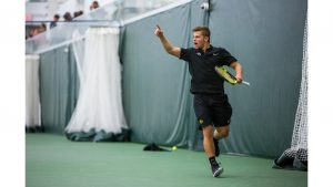 Iowa men's tennis junior Kareem Allaf wins ITA Central Regional