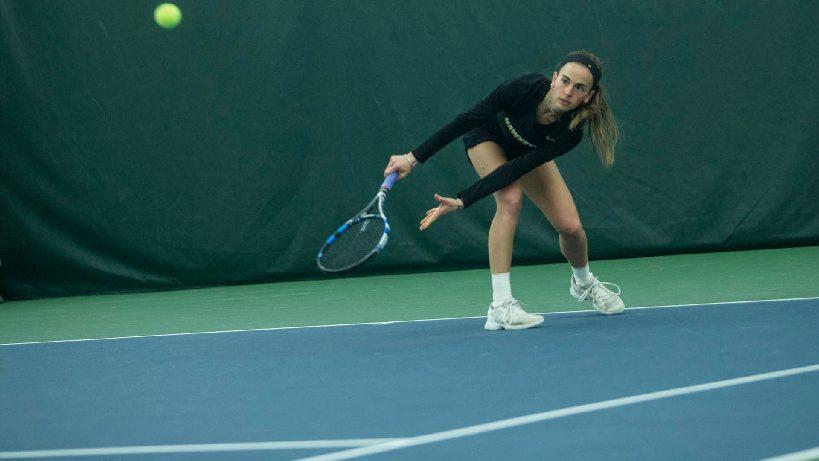 Dreams Do Come True for tennis senior Adrienne Jensen