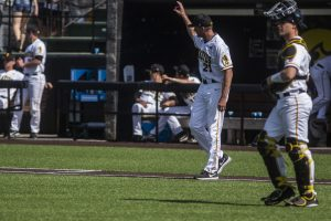 Iowa baseball searching for go-to closing pitcher