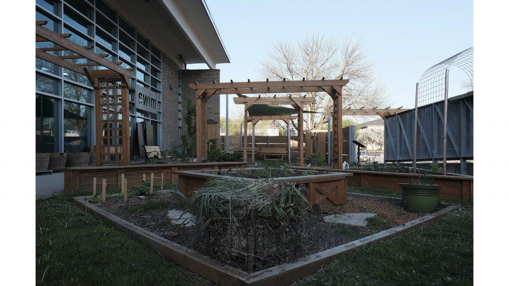 The garden classroom at the Robert A Lee recreation Center is seen on Monday, May 5, 2018. The classroom will be the location of a new butterfly tent. (Nick Rohlman/The Daily Iowan)