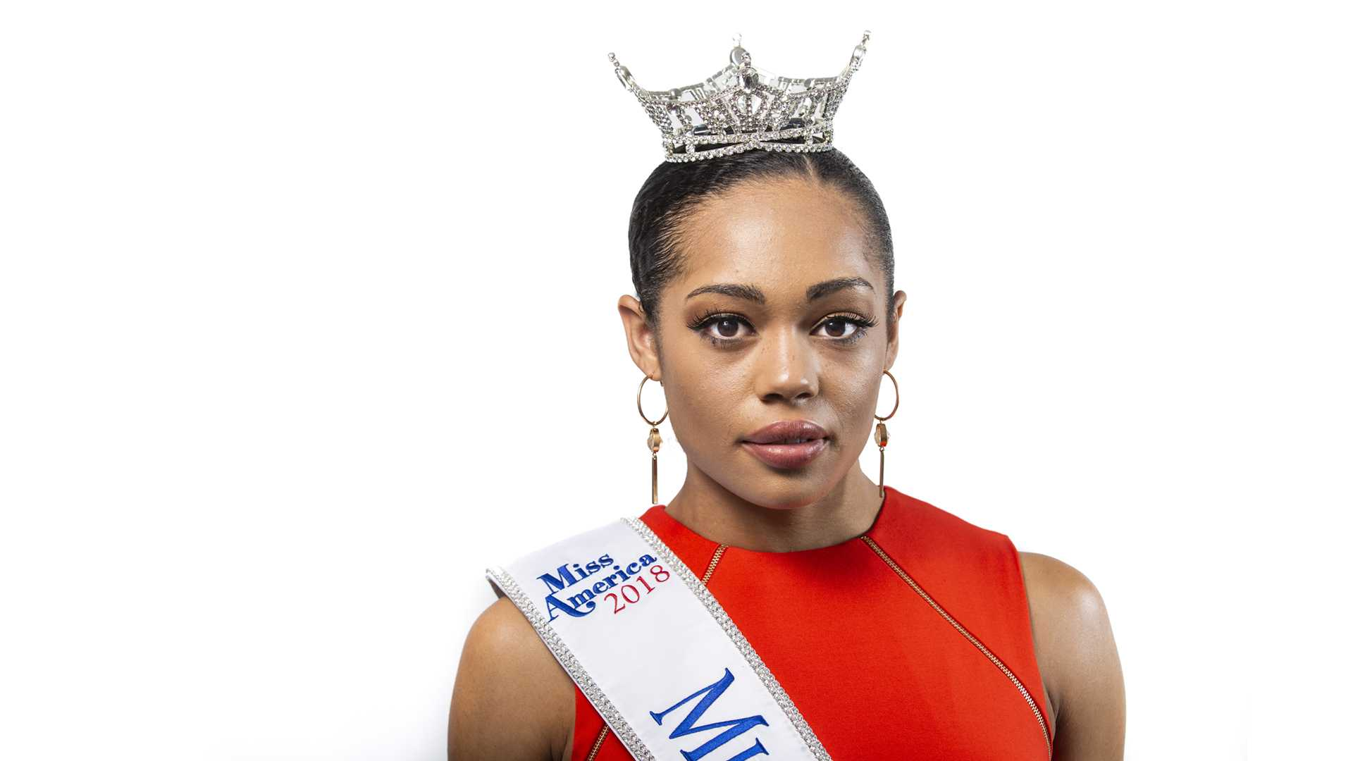 Miss Iowa 2018 Mikhayla Hughes-Shaw poses for a portrait on Friday, June 22, 2018. (Nick Rohlman/The Daily Iowan)