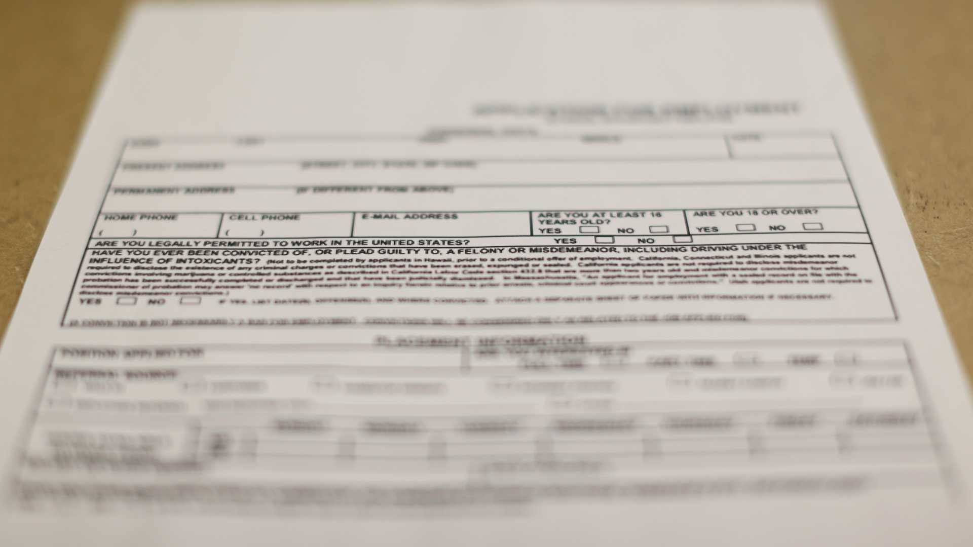 County axes criminal history on job applications