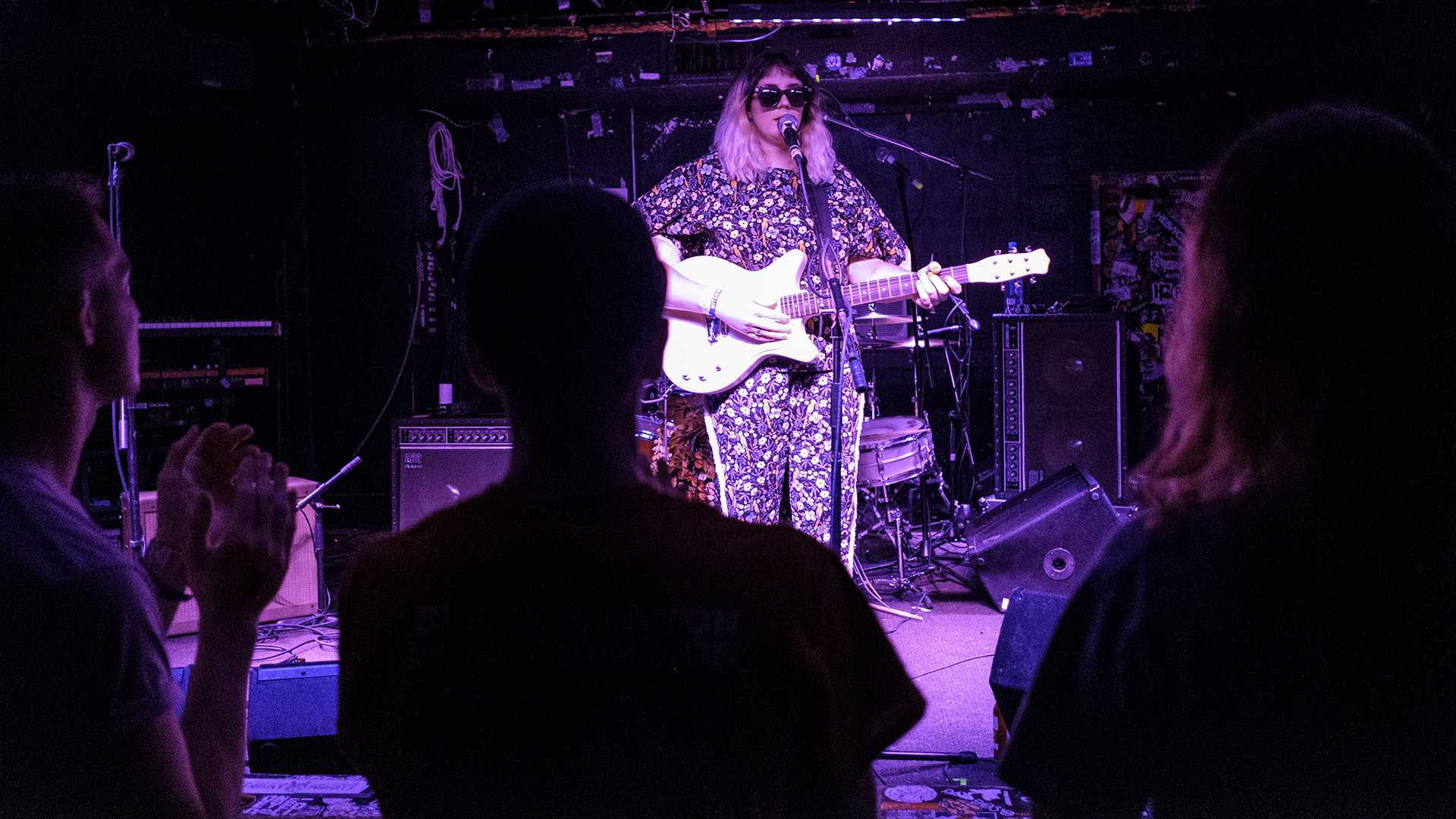 Karen Meat performs at Gabe's during the Witching Hour Festival on Oct. 20, 2017. The band will join Quichenight on stage on June 17 at Gabe's. (Nick Rohlman/The Daily Iowan)