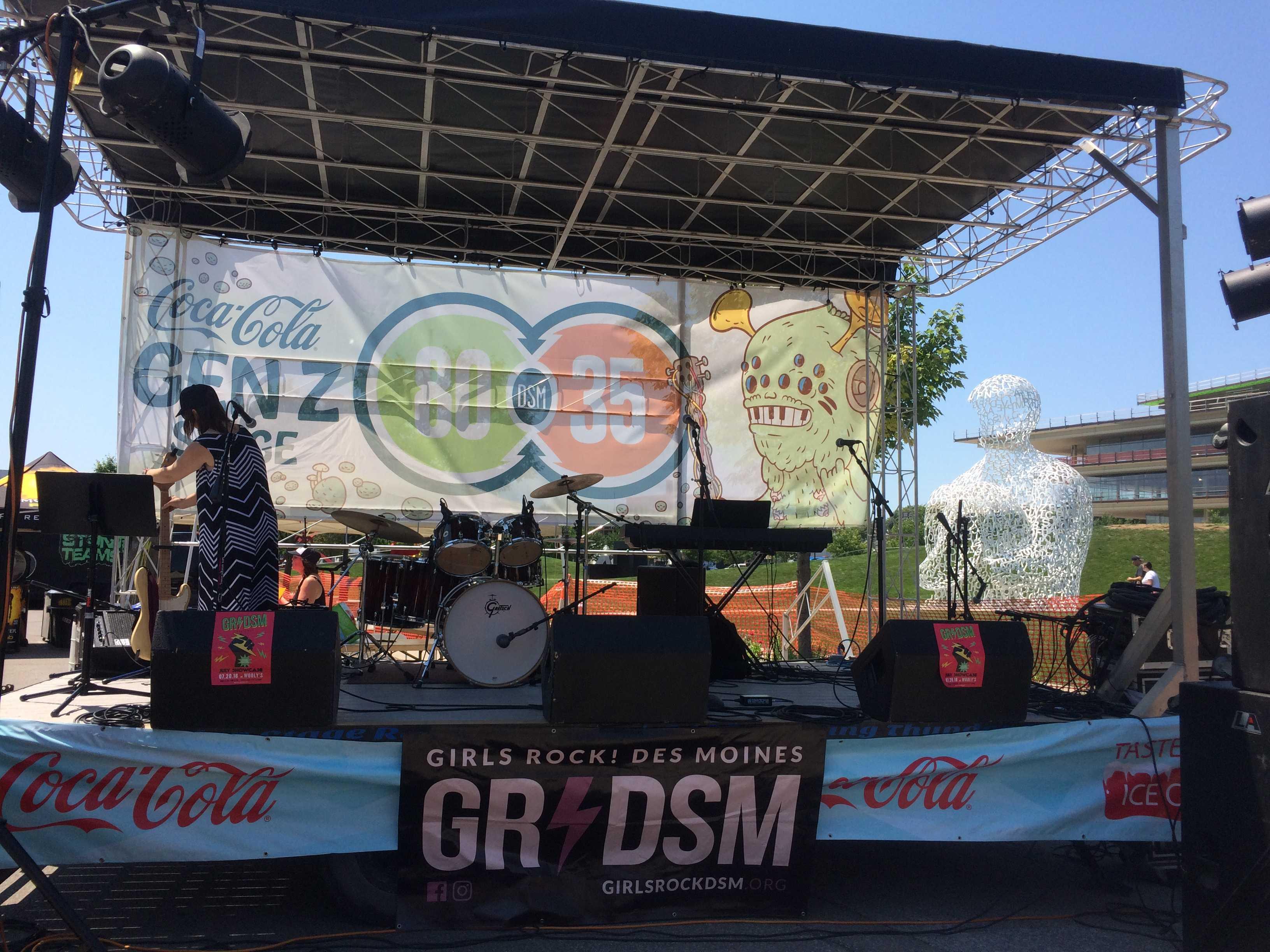 80/35 gives a musical platform for an organization empowering girls