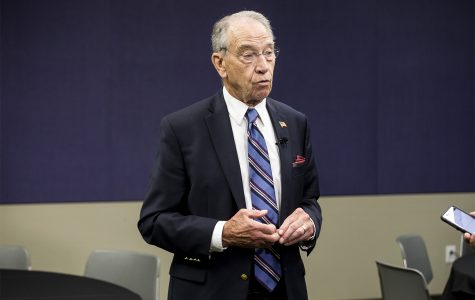Immigration legislation stalled in the U.S. Senate, Chuck Grassley says in Des Moines