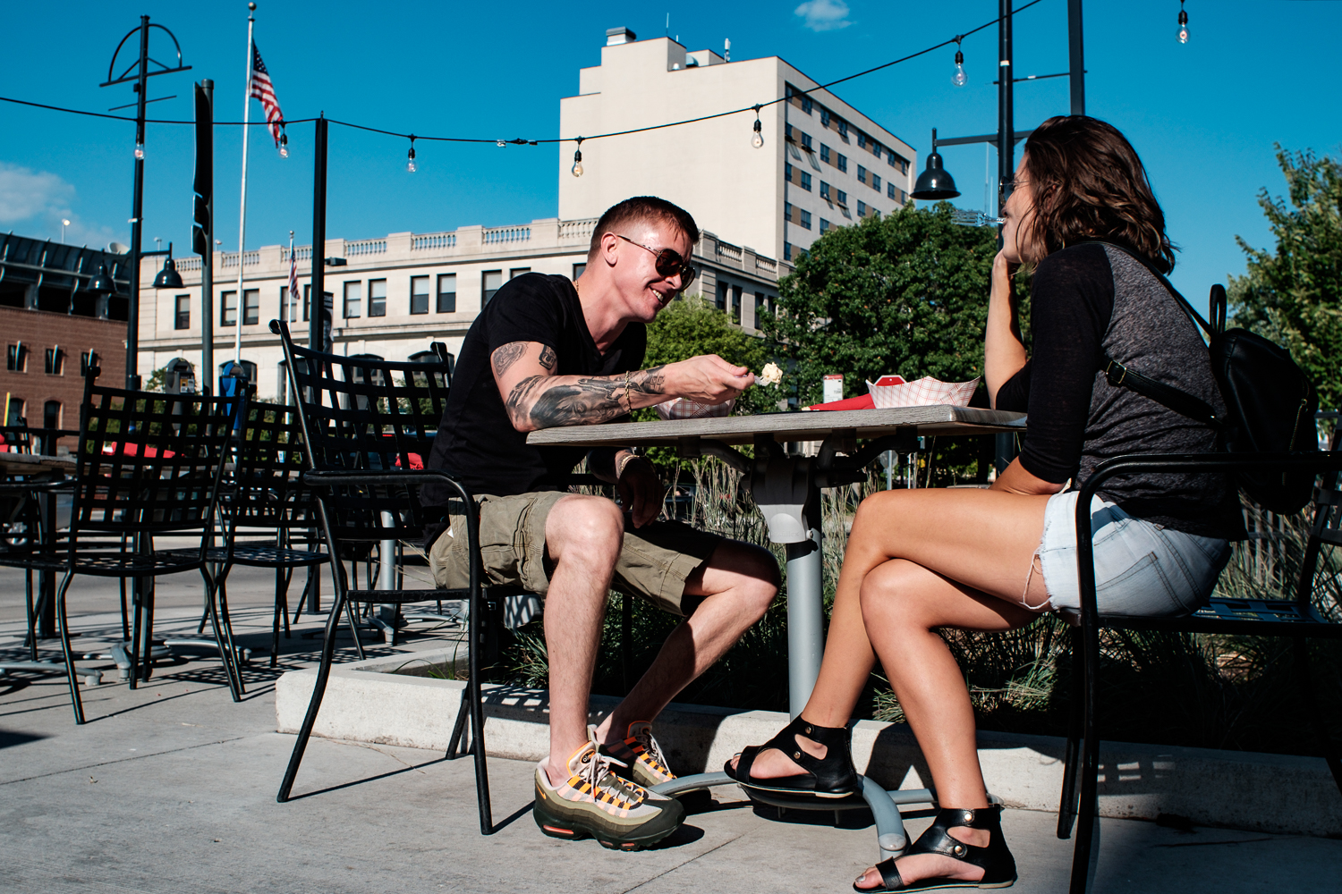 The Iowa City Downtown District's Taste of Iowa City drew locals and visitors from a little further afield on Wednesday, Aug. 22, 2018.