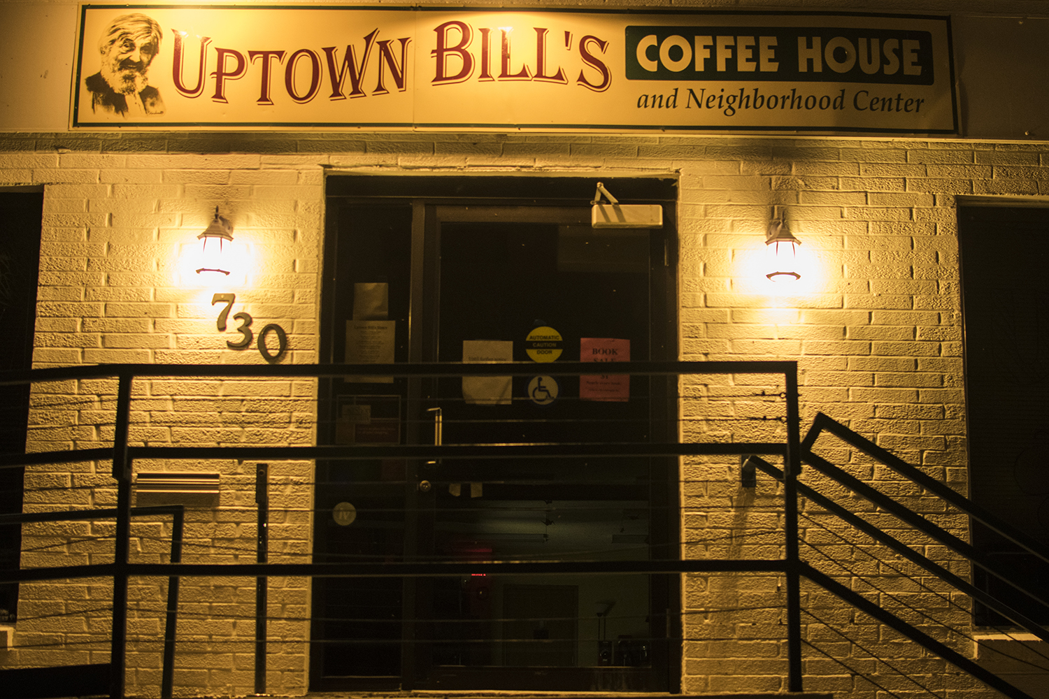 Uptown Bills is seen on Monday, August 27th, 2018. The coffee shop is at risk of closing due to insufficient funds. (Thomas A. Stewart/The Daily Iowan)