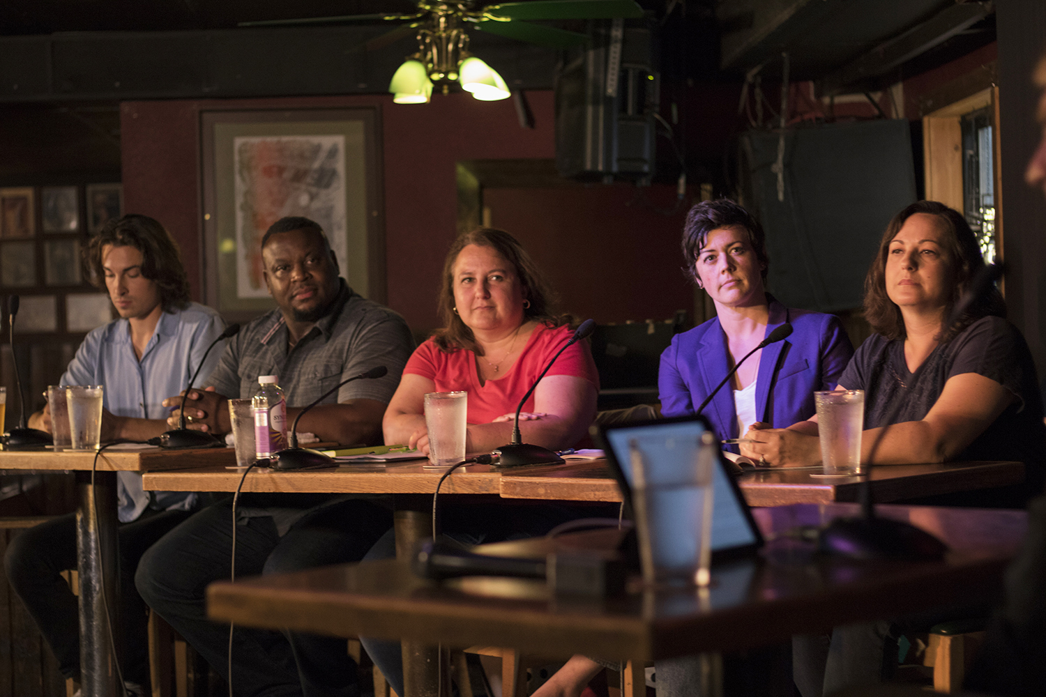 City Council special election candidates shared their vision for Iowa City at the Mill.