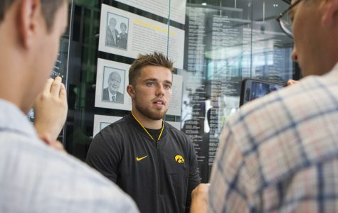Hawkeye football receivers and running backs build experience heading into Week 1
