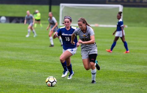 Ripslinger leads Iowa soccer past Indiana State