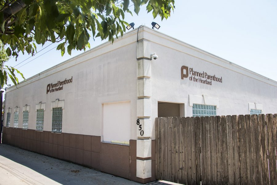 The Planned Parenthood-Iowa City Health Center is seen on Monday, July 9, 2018.