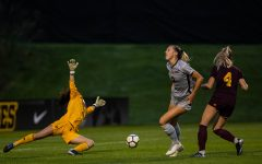 Iowa soccer falls at Penn State