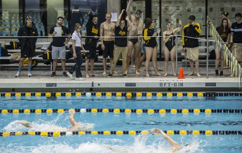 Photos: Iowa Swimming and Diving Intrasquad meet