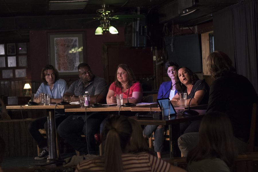During City Council election forum, candidates shared their vision for Iowa City at the Mill.