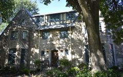 The Delta Zeta Sorority house is seen on South Dodge Street on Wednesday, Sept. 12, 2018.
