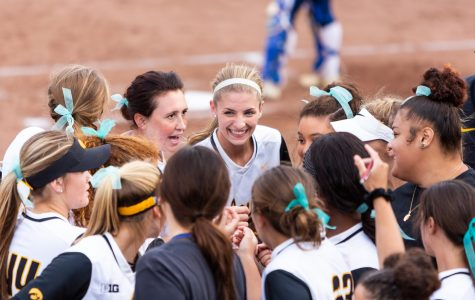 Mayhew, Doocy powering Hawkeye softball through nonconference slate