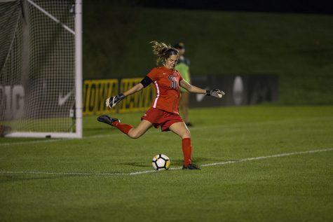 Iowa soccer wins in an upset against No. 22 Nebraska