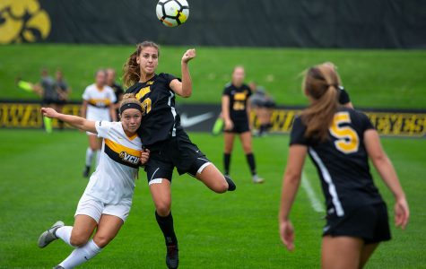 Iowa soccer ships out for second road trip