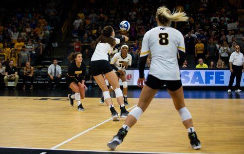 Iowa volleyball set for Big Ten weekend