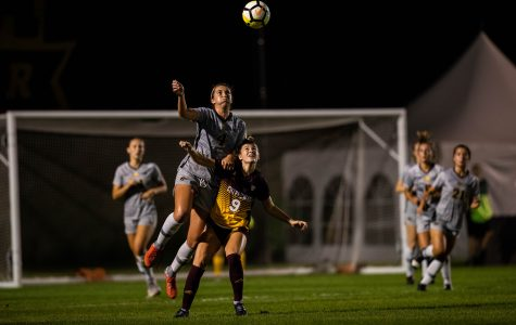 Iowa soccer suffers first losses of season