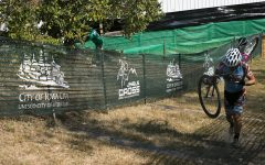 A group of gravel bicyclists will compete in this weekend's cyclocross event