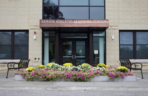 The Gerdin Athletic Learning Center as pictured on Sept. 7. The building, which has study spaces for student athletes, just received a $6 million renovation.