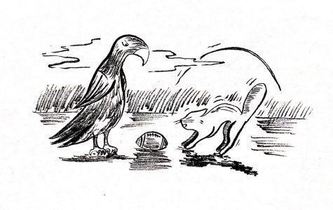 Cartoon: Iowa versus Northern Iowa
