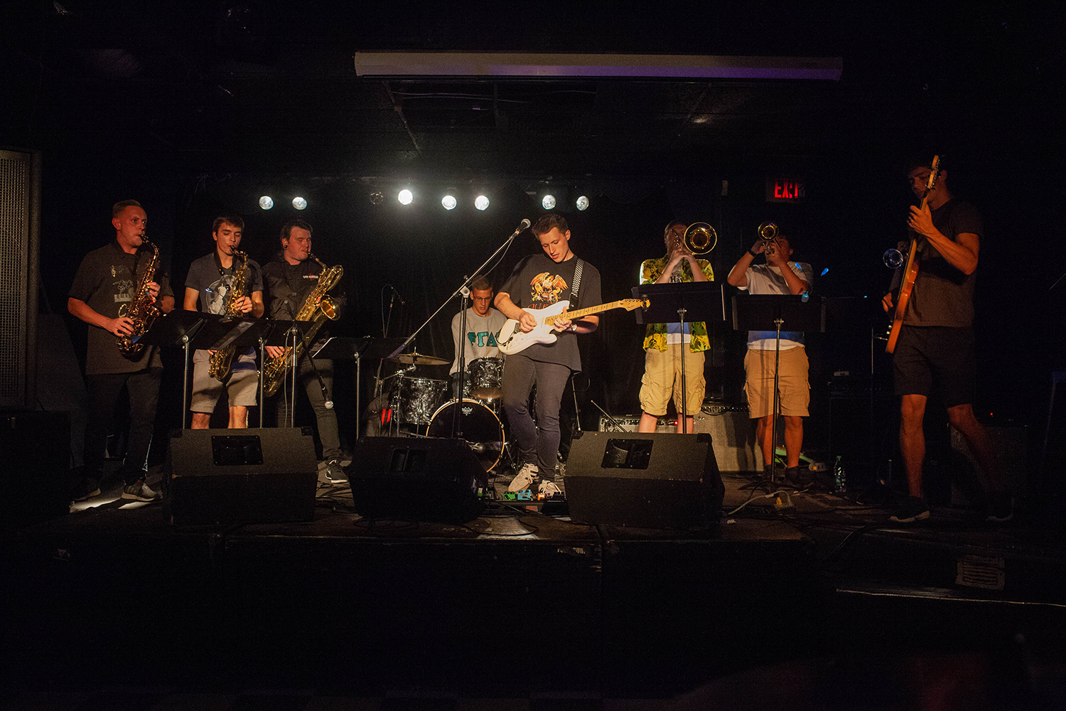 Mystic Cats perform at The Blue Moose on Thursday, Sept. 6, 2018.