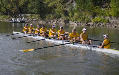 The steady progression of Iowa rowing