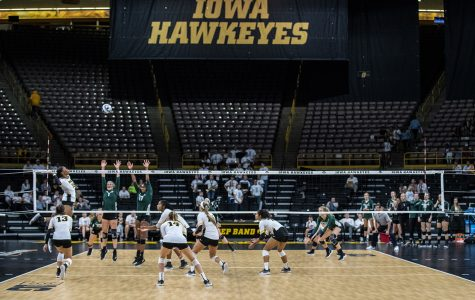 Photos: Volleyball vs. Michigan State (9/21/18)