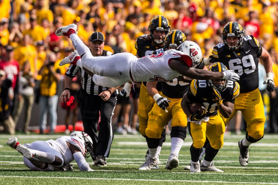 Iowa+running+back+Mehki+Sargent+carries+the+ball+during+Iowa%27s+game+against+Northern+Illinois+at+Kinnick+Stadium+on+Saturday%2C+September+1%2C+2018.+during+Iowa%27s+game+against+Northern+Illinois+at+Kinnick+Stadium+on+Saturday%2C+September+1%2C+2018.+The+Hawkeyes+defeated+the+Huskies+33-7.