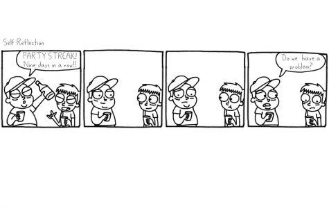 Cartoon: Self reflection