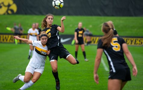 Iowa soccer hosts Big Ten contest