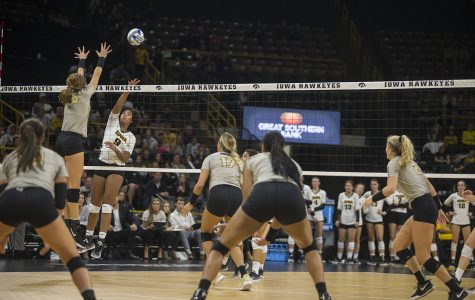 Iowa volleyball takes top-25 loss to Boilermakers