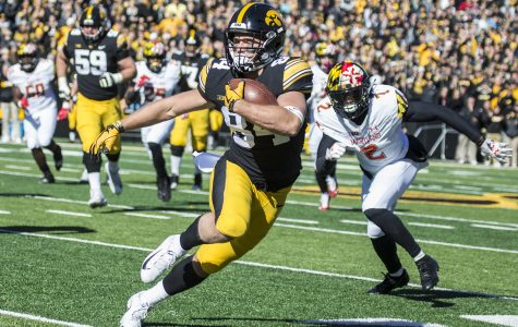 Hawkeye football's Easley reflects on his journey to Iowa