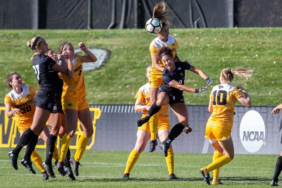 Photos: Soccer vs. Northwestern (10/21/18)