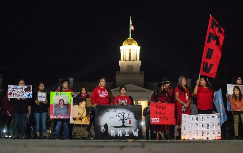Vigil sheds light on the mistreatment of indigenous women in the U.S.