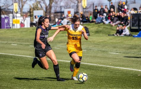 Iowa soccer draws with Northwestern to end season